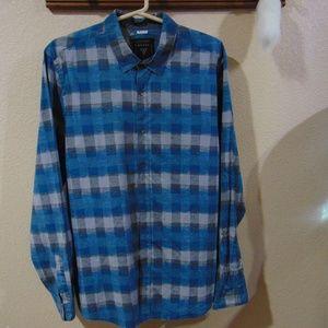 Guess Plaid Shirt-Slim Fit
